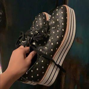 Zara platform sneaker size 40